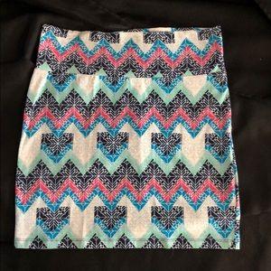 💎 Aztec Printed Mini Skirt 💎